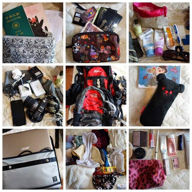 背包旅行到底都在帶什麼?