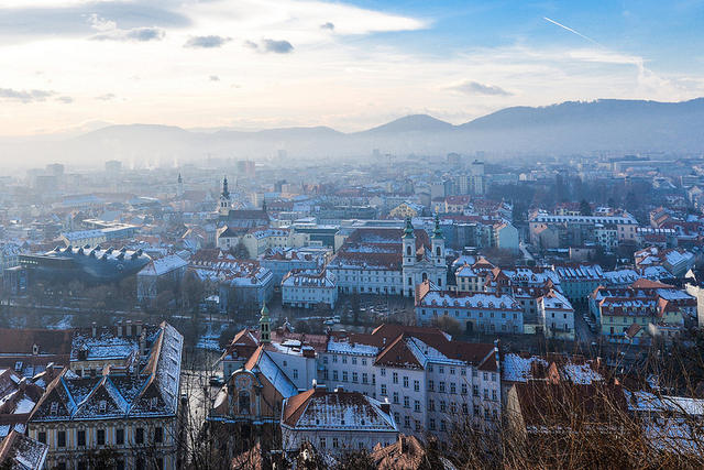 Graz - 漫遊格拉茲,奧地利第二大的小城