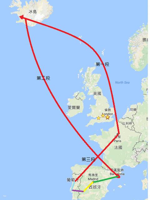 【歐洲自助教學】冰島、西班牙、葡萄牙、法國 ,四國路線購買大公開,機票全部不用兩萬五,連路線都幫你規畫好了!
