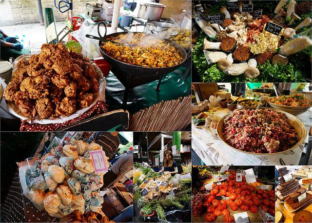 [英國倫敦] 美食沙漠中的綠洲/歷史悠久的假日市集波羅市場Borough Market